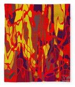 0656 Abstract Thought Fleece Blanket