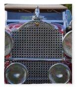 1930 Packard Model 734 Speedster Runabout Fleece Blanket