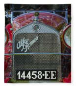 1931 Alpha Romeo Type 6c 1750 Gran Sport Fleece Blanket