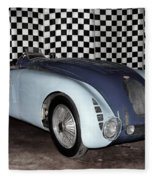 1936 Bugatti 57g Tank Fleece Blanket