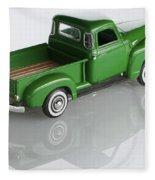 1951 Chevy Pick-up Fleece Blanket