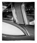 1957 Studebaker Golden Hawk Bw Fleece Blanket
