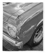 1963 Ford Falcon Sprint Convertible Bw  Fleece Blanket