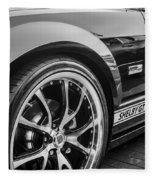 2007 Ford Mustang Shelby Gt Painted Bw   Fleece Blanket