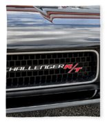 2011 Dodge Challenger Rt Black Fleece Blanket