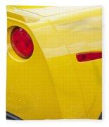 2013 Chevy Corvette Zr1 Fleece Blanket
