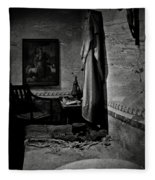 A Cell In Santa Barbara Mission Fleece Blanket