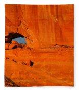 A Hole In The Rock Fleece Blanket