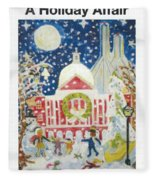 A Holiday Affair Fleece Blanket