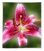 A Lilly For You Fleece Blanket