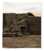 A Needle In A Haystack Fleece Blanket