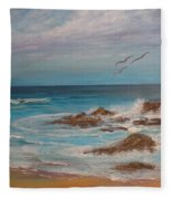 A Quiet Moment Fleece Blanket