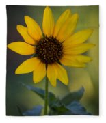 A Sunflower  Fleece Blanket