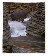 Above The Falls Fleece Blanket