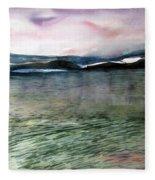 Alaskan Waters Fleece Blanket