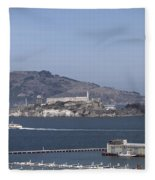 Alcatraz, C1998 Fleece Blanket
