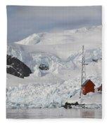 Almirante Brown Research Station Fleece Blanket