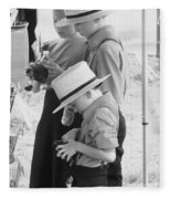 Amish Auction Day Fleece Blanket