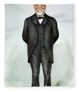 Andrew Carnegie (1835-1919) Fleece Blanket