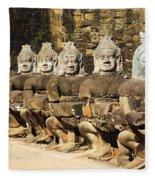 Angkor Thom Fleece Blanket