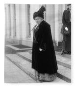 Anna Howard Shaw Fleece Blanket