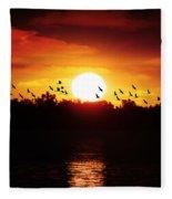 Another Sunset Fleece Blanket