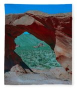 Arch Rock - Valley Of Fire State Park Fleece Blanket