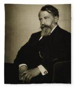 Arthur Schnitzler Fleece Blanket