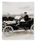 Automobile, C1915 Fleece Blanket
