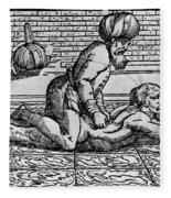 Avicenna (980-1037) Fleece Blanket