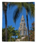 Balboa Park Fleece Blanket