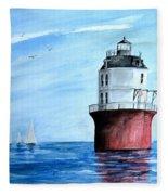 Baltimore Lighthouse  Fleece Blanket