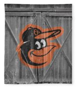 Baltimore Orioles Fleece Blanket