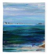 Barrier Islands Fleece Blanket