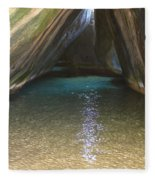 Bath Rocks  Fleece Blanket