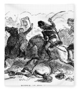 Battle Of Cowpens, 1781 Fleece Blanket