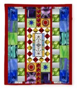 Bejeweled 1 Fleece Blanket