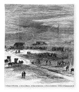 Bender Murders, 1873 Fleece Blanket