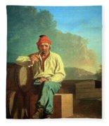 Bingham's Mississippi Boatman Fleece Blanket