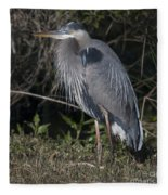 Birds Of The Lowcountry Fleece Blanket