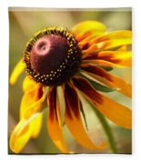 Black Eyed Susan Fleece Blanket