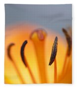Bloom Of Lily Fleece Blanket