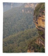 Blue Mountains Australia Fleece Blanket
