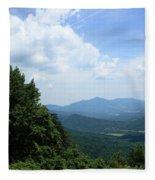 Blue Ridge Mountains - Virginia 5 Fleece Blanket