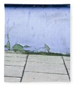 Blue Wall Fleece Blanket