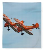 Breitling Wingwalkers Team Fleece Blanket