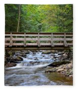 Bridge To Paradise Fleece Blanket