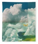 Brother In The Air Fleece Blanket