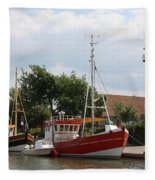 Buesum Lighthouse - North Sea - Germany Fleece Blanket
