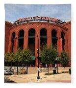 Busch Stadium - St. Louis Cardinals Fleece Blanket